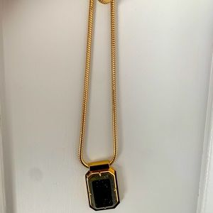Kate Spade ♠️ long necklace with chunky chain